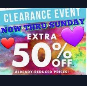 Other - 50% OFF ALREADY CLEARANCE PRICES🌟🌟SAVE HUGE%🌟🌟